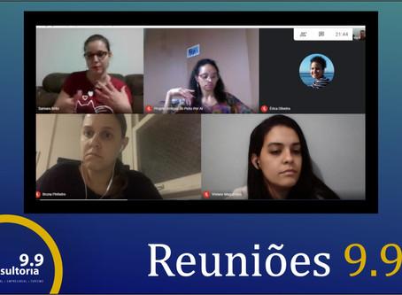 Reuniões Virtuais de Desempenho da Equipe 9.9
