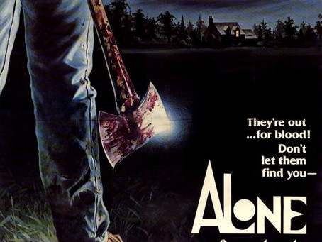 AHiTH Presents Alone in the Dark free screening on Zoom this Sunday, September 6, 7 pm Pacififc Time