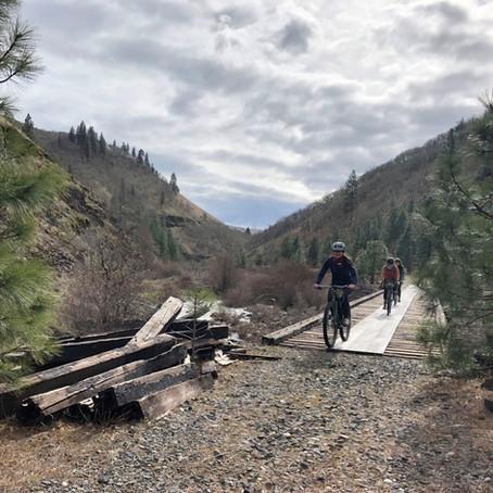 Bike Explorer-ing in the Columbia River Gorge