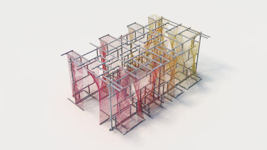 Axonometric of final design