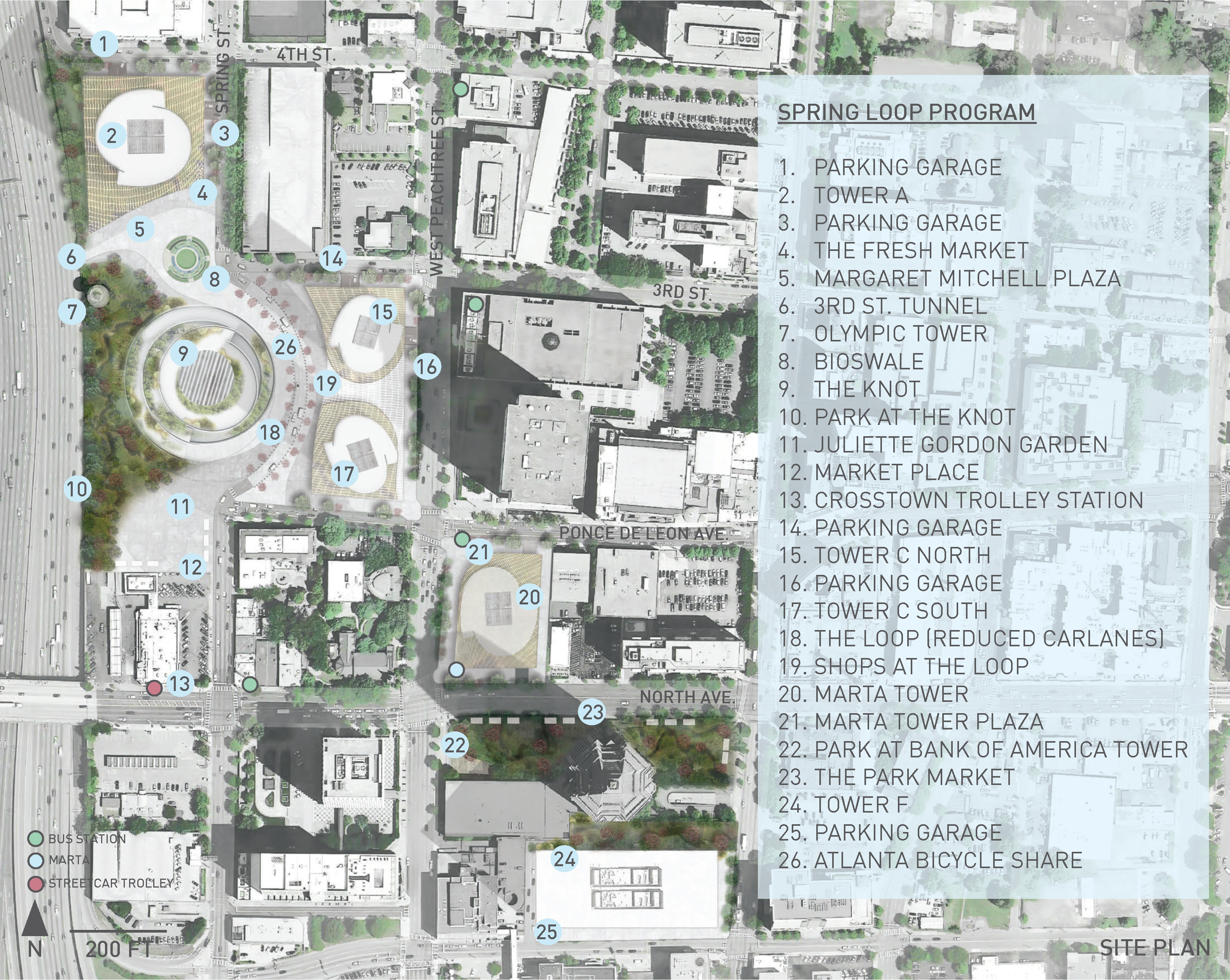 Spring City site plan