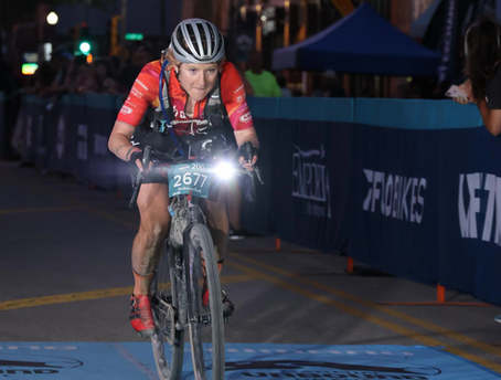 A Look Back at the 200-Mile Unbound Gravel, Women's Single Speed Race