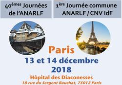 40èmes ANARLF - Paris