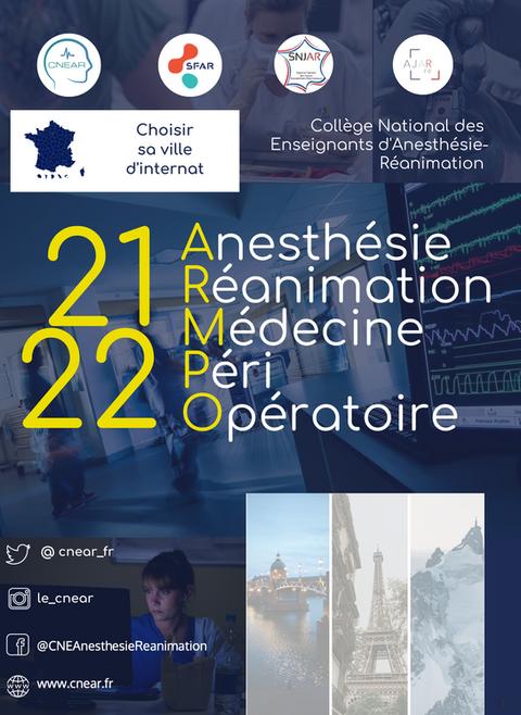 Guide de présentation de la spécialité Anesthésie Réanimation pour les futurs internes