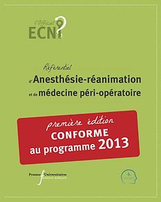 ECN AnesRea-ancienne édition programme