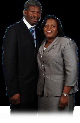 Pastor Paul and Sis. Sandra faded bottom