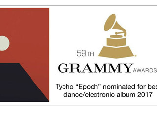 Tycho Nominated for a Grammy