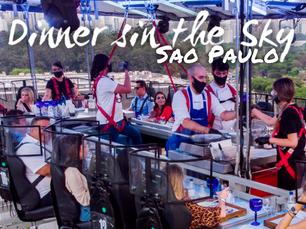 COMO É O SUNSET DO DINNER IN THE SKY EM SÃO PAULO