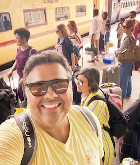 Como é viajar de trem na Índia