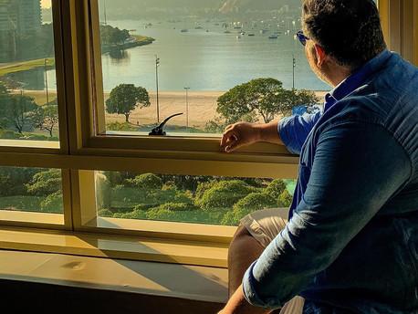 HOTEL COM A VISTA MAIS DESLUMBRANTE DO RIO DE JANEIRO