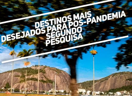 Os destinos mais desejados do Brasil: Rio,Gramado, Campos do Jordão,Monte Verde e Porto de Galinhas
