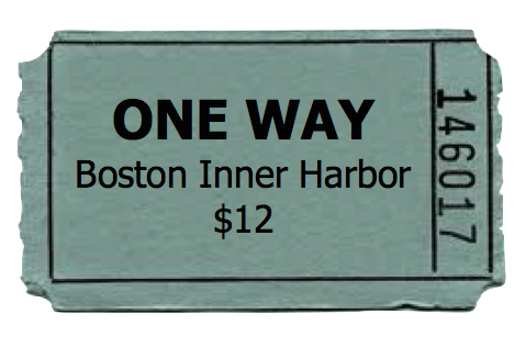 One Way - Boston Inner Harbor