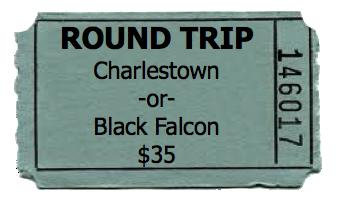 Round Trip - Black Falcon