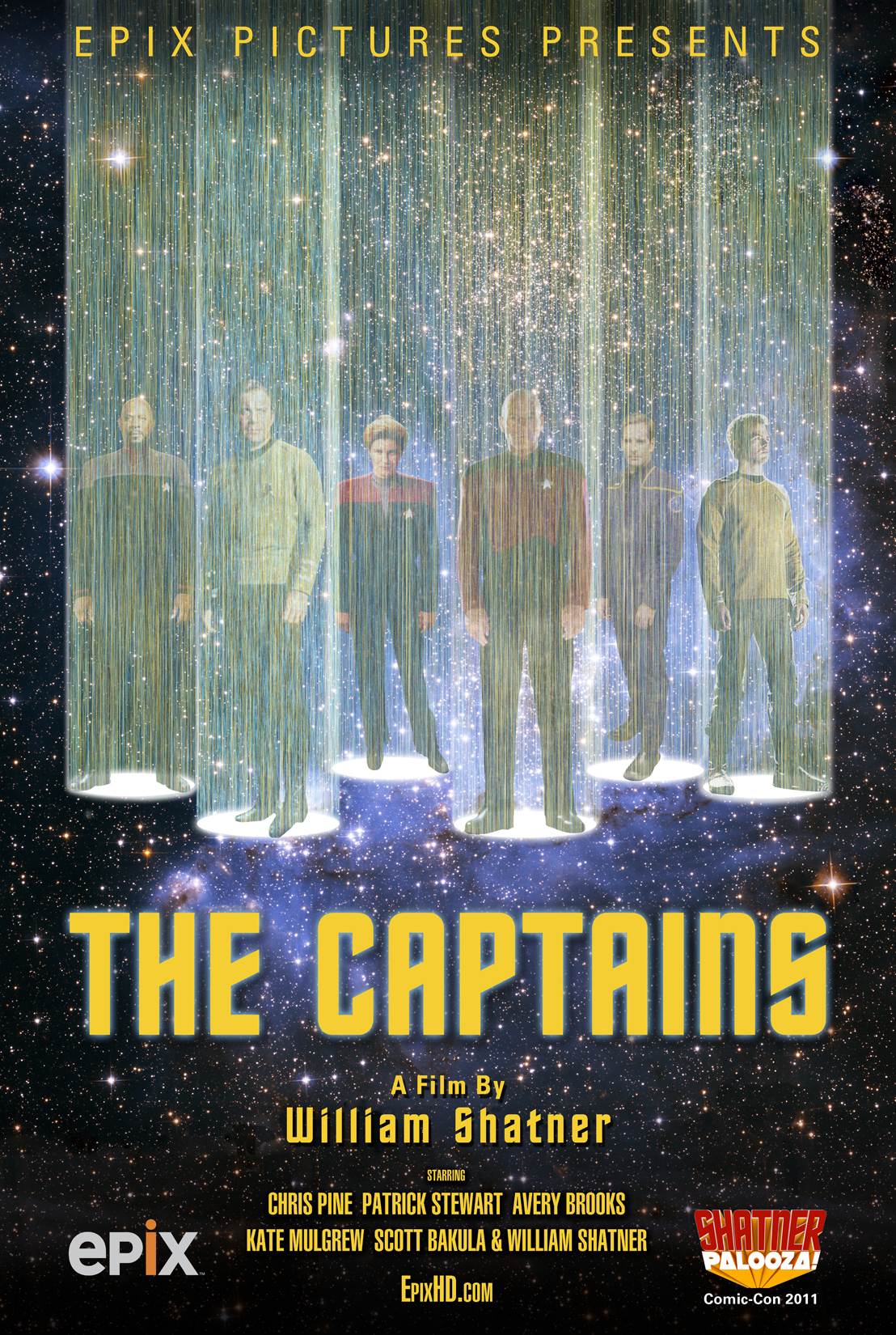 BILL CAPTAINS POSTER