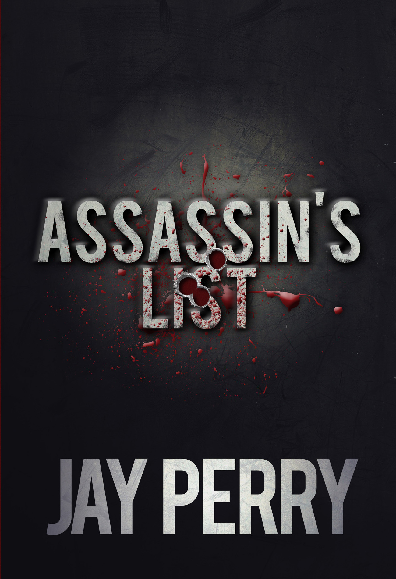 Assassin's List Dust Jacket