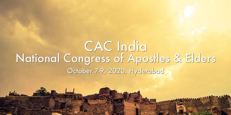 CAC India Convenes a National Congress of Apostles & Elders