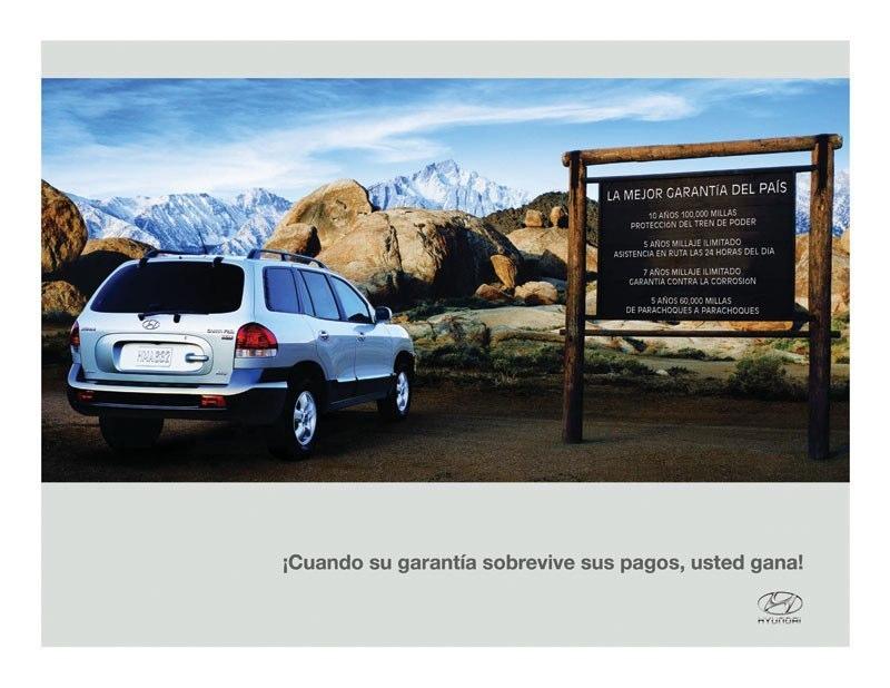 Hyundai Spanish Print Ad