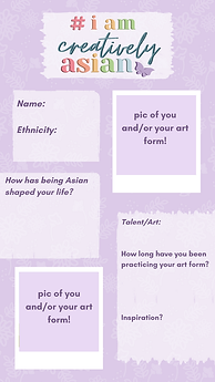 Creatively Asian Campaign Story Template