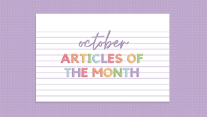 Articles of the Month
