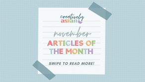November Articles of the Month