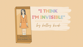 """i think i'm invisible"""
