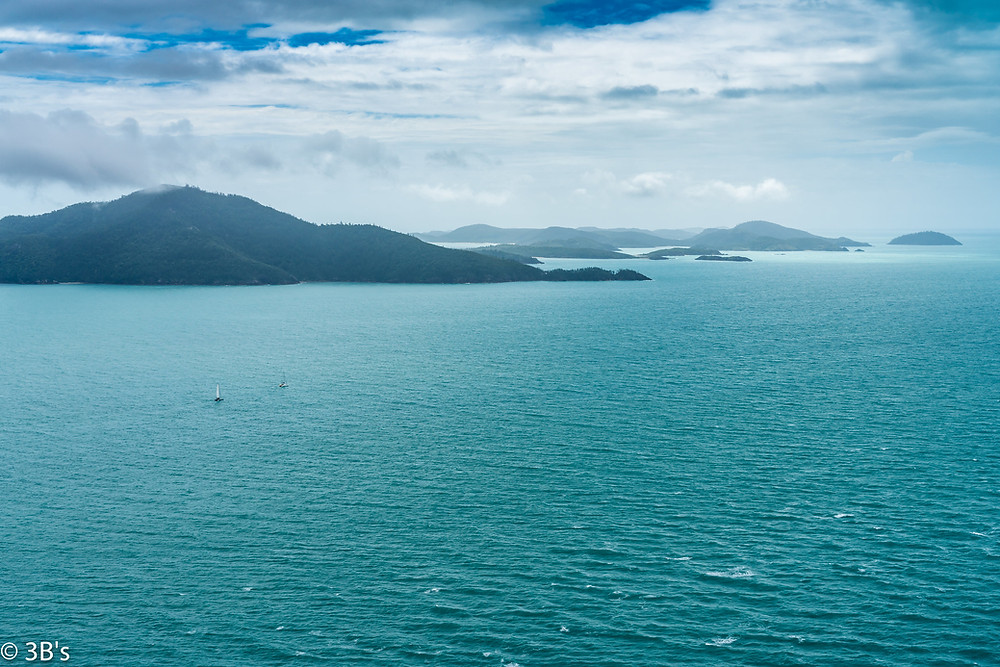 "Photo: ""Blue View"" by The 3B's, Hamilton Island, Passage Peak"
