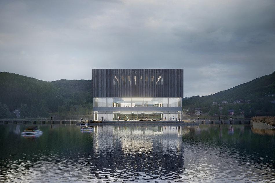 Space Travellers Nube architetture New Era Wharf 1 Europan Norway 2015