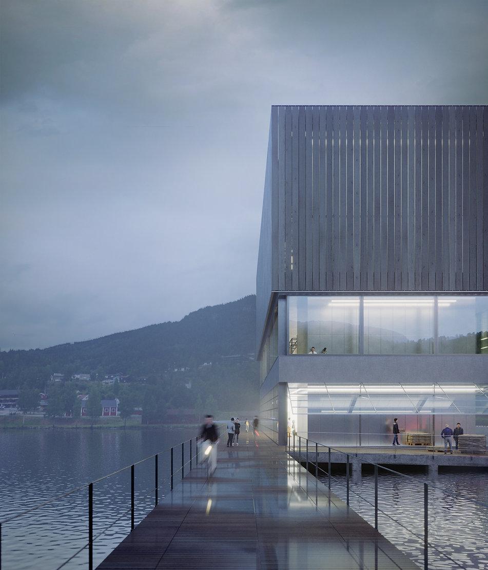 Space Travellers Nube architetture New Era Wharf 3 Europan Norway 2015