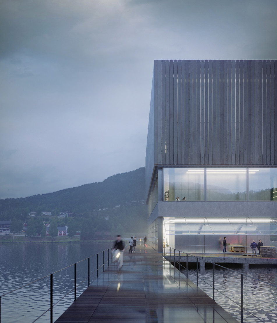 Space Travellers Nube architetture New Era Wharf 3 Europan Norway 2015