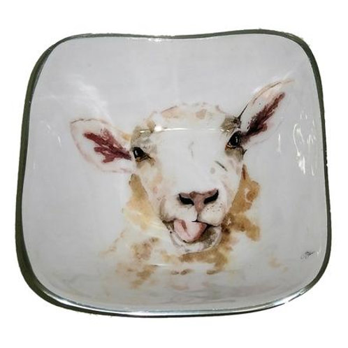 Sheep Square Bowl