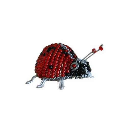 Beaded Ladybird 4 cm