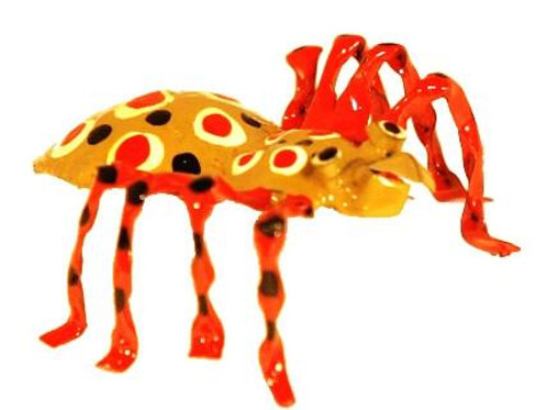 Hand Painted Tin Spider