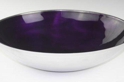 Purple  Round Bowl Large