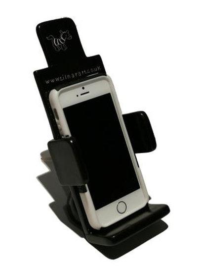 Soapstone Mobile Phone Holder - Black