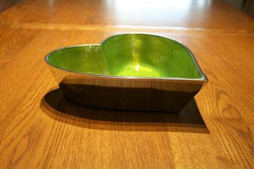Lime Heart Bowl