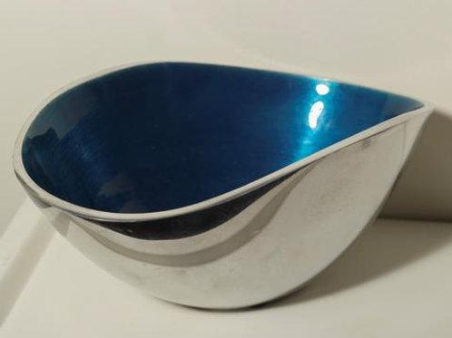 Aqua Oval Bowl Small