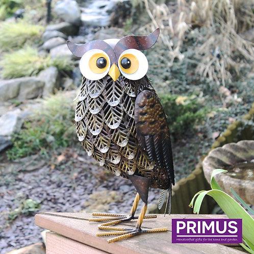 Brown Woodlands Owl