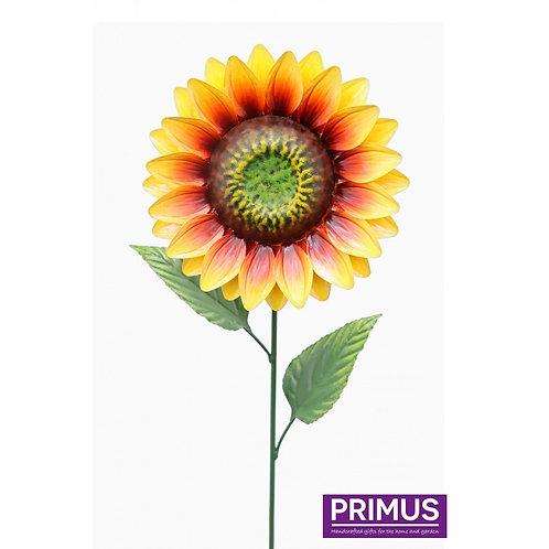 83cm Medium Metal Sunflower Garden Stake