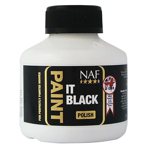 NAF PAINT IT BLACK HOOF POLISH