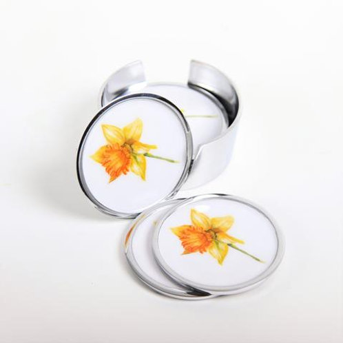 Daffodil Coasters Set of 6