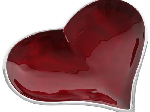 Red Heart Dish Large