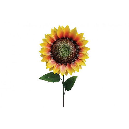 1.2m Giant Metal Sunflower Garden Stake