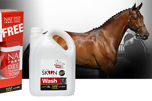 Love the SKIN hes in Skin Wash