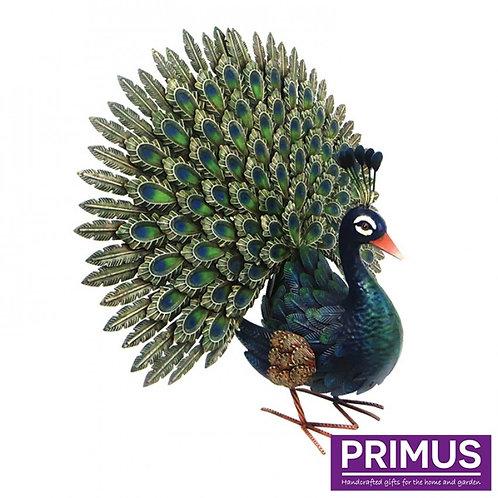 Deluxe Metal Peacock