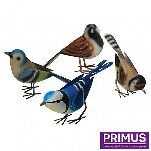 Metal British Birds - Set of 4