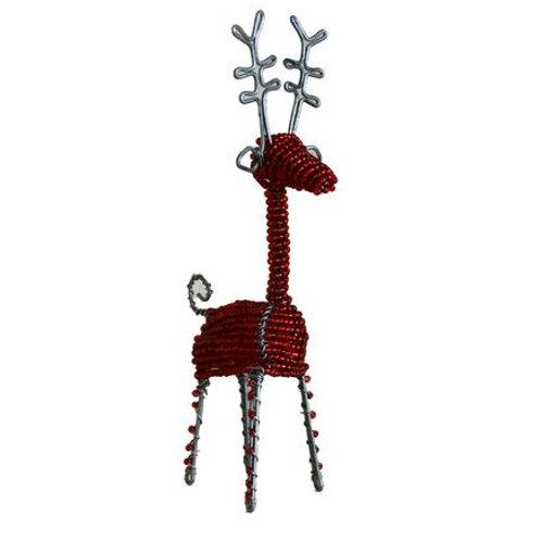 Beaded Reindeer Large