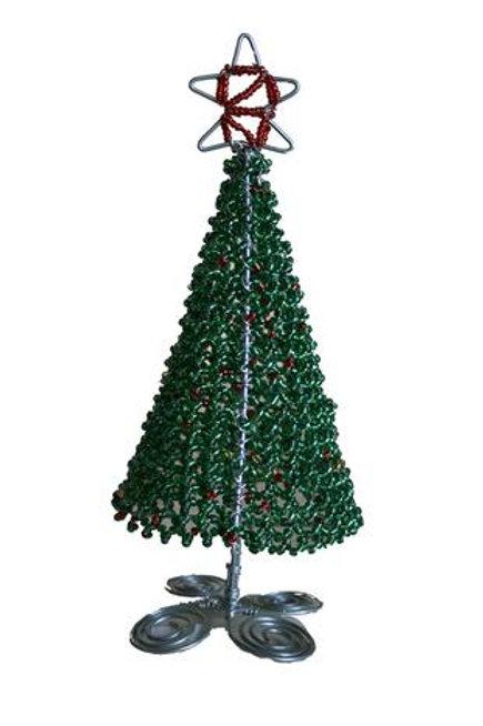 Beaded Christmas Trees Medium