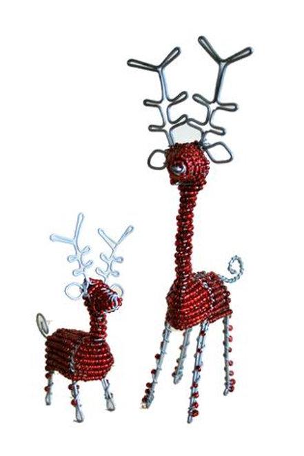 Beaded Reindeer Small