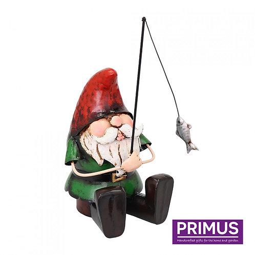 Metal Gnome fishing