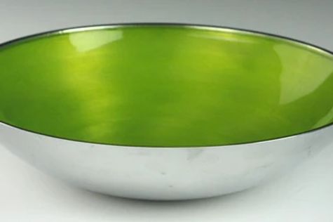 Lime Round Bowl Large